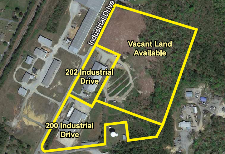 204 Industrial Drive, Emporia, Virginia, 23847, ,Land,For Sale ,204 Industrial Drive,1142